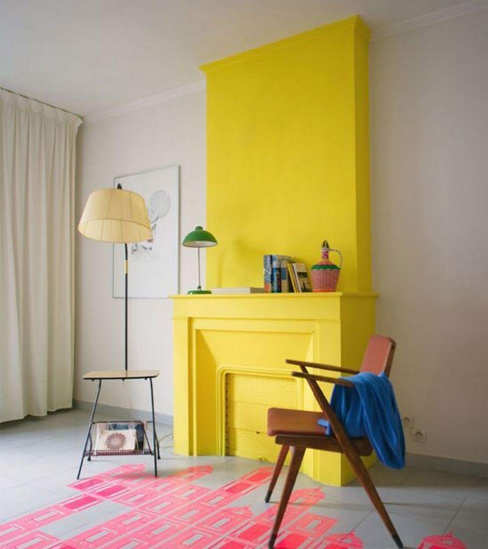 Варианты окраски стен двумя цветами