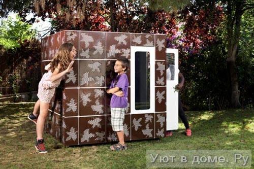 Детский игровой домик своими