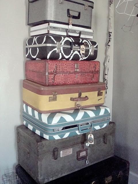 Как отреставрировать старый чемодан своими руками