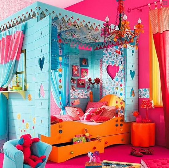 Идеи для детской комнаты для девочек своими руками