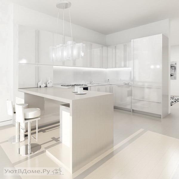 Дизайн кухня кафель