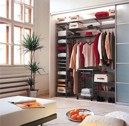 гардеробная, оформление гардеробной, системы хранения вещей, системы хранения.