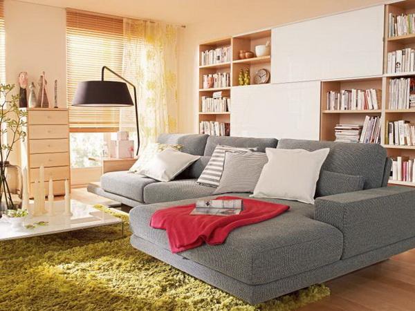 Интерьер в однокомнатной квартире фото