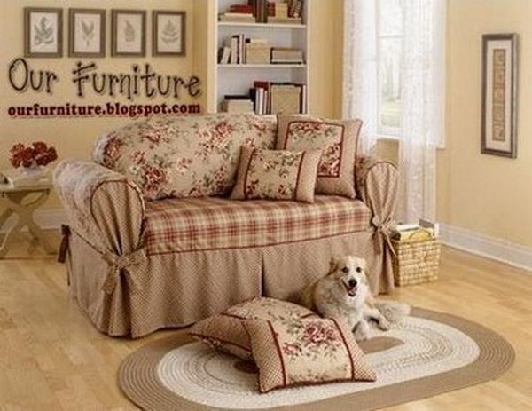 Чехлы диван и 2 кресла