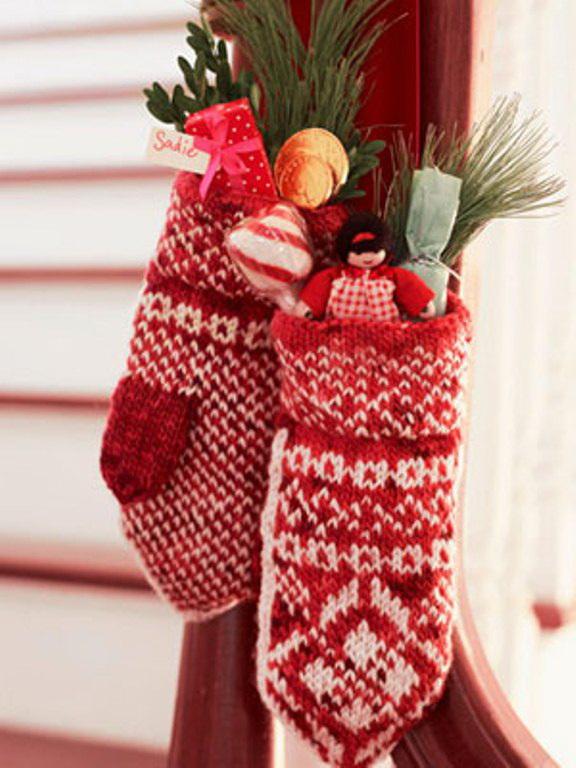 Вязаные новогодние подарки своими руками фото
