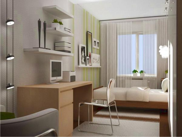 Дизайн комнаты дерево