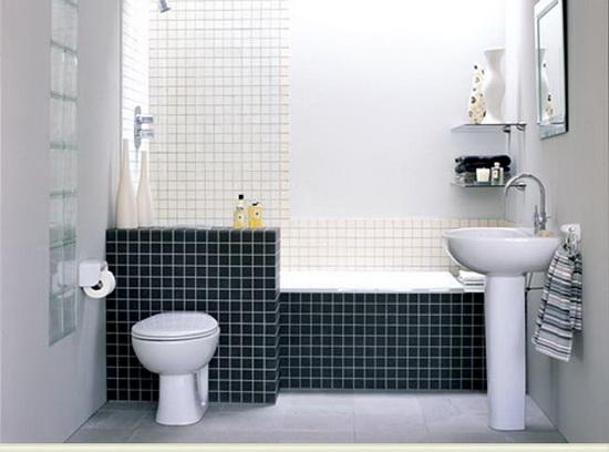 Маленькая ванная комната  50 идей -> Arquitetura De Banheiro Com Banheira