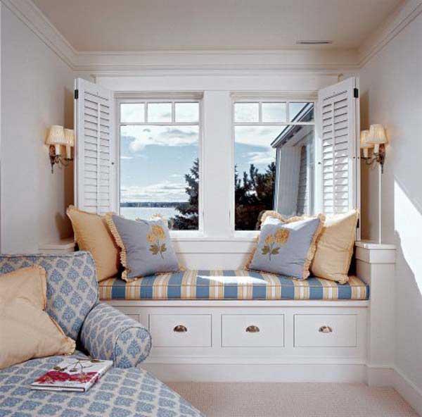 Кровати у окна своими руками 36