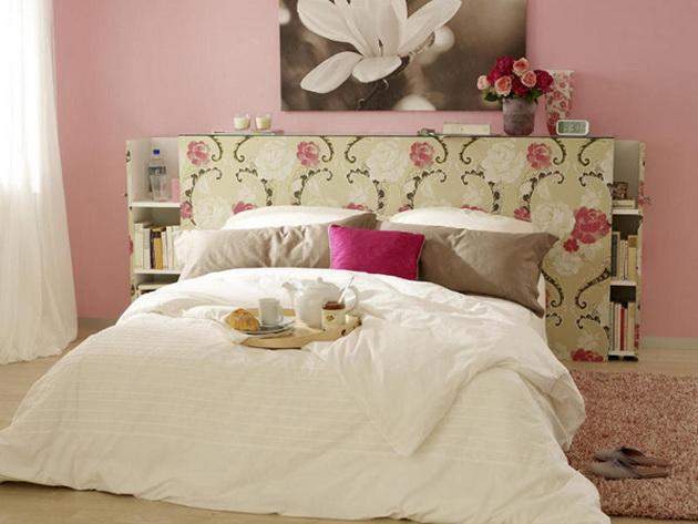 Как обновить и декорировать изголовье кровати
