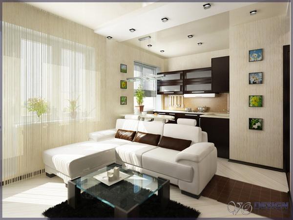 Квартира студии дизайна интерьера