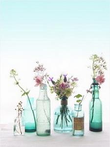 Стеклянные вазы
