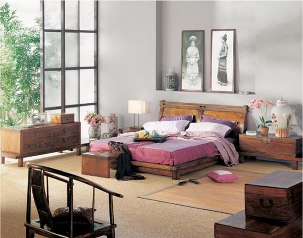 Неповторимый и чарующий дизайн интерьер спальной комнаты с такой же.