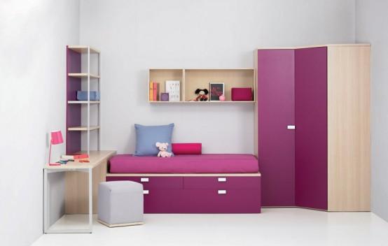 Фото подборка идей интерьера детских комнат , июнь 2010. Веселые