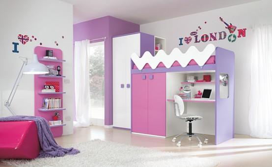 Детские кровати для разнополых детей 82