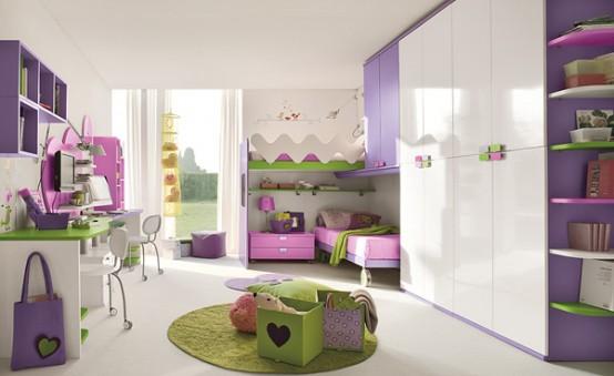 Для детской комнаты дизайн детской
