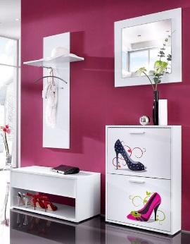 Шкаф для обуви в прихожую 1