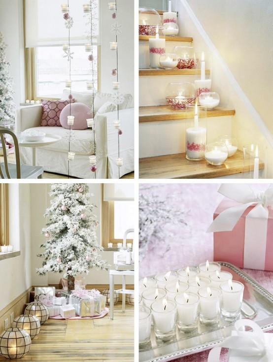 Новогоднее украшение дома - декор