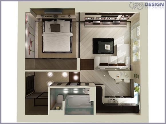 маленькая квартира