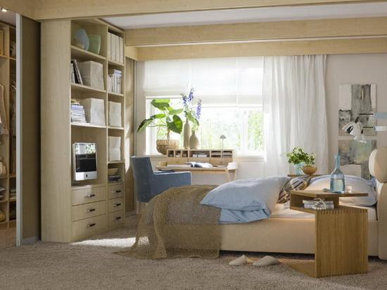 Стиль и мебель для маленькой спальни