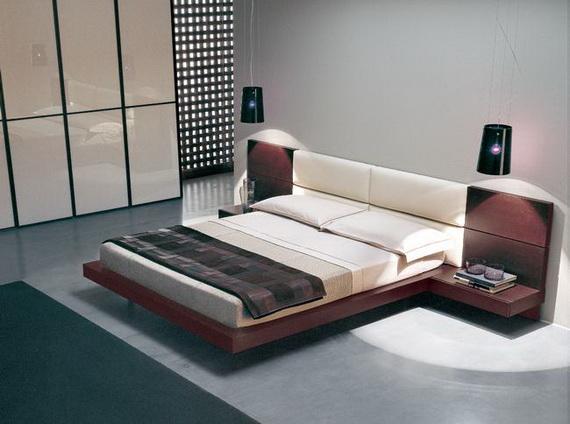 design camera da letto in stile giapponese