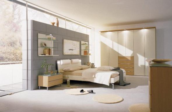 белая спальня фото