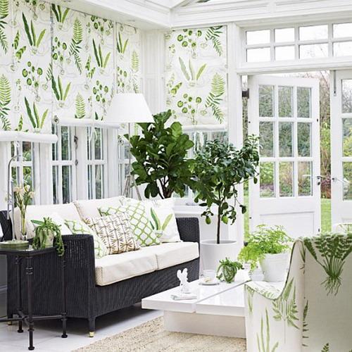 Дизайн окон штор для зала фото
