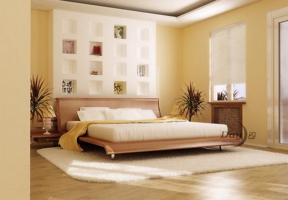 Сочетание цветов в дизайне спальни 84