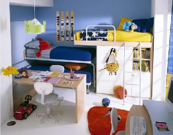 Детские спальни на 3 детей 71