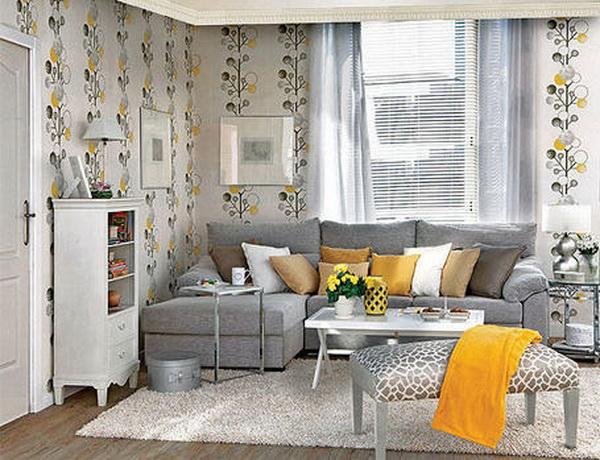 Дизайн маленьких гостиной-спальни
