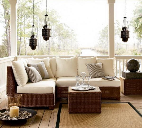 Дизайн угловых диванов