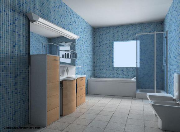 Lange Smalle Kast : Kast voor de badkamer