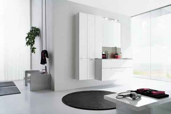 Шкаф-пенал для ванной