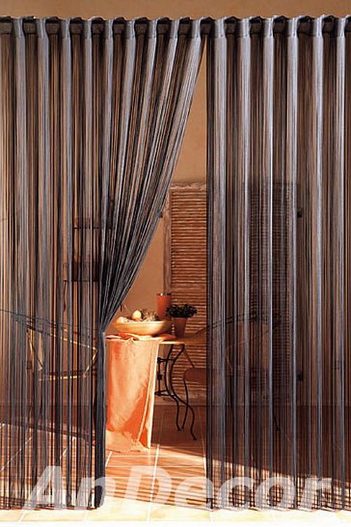 Нитчатые шторы в интерьере фото