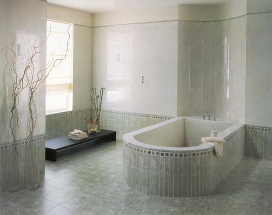 керамическая плитка для ванной дизайн фото в квартире #14
