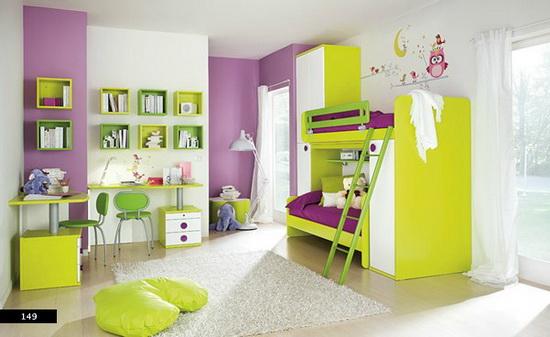 Детскую покрасить в какой цвет