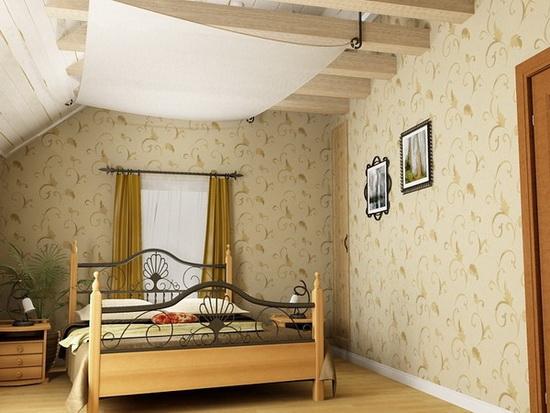 Ванная комната в деревянном доме 32