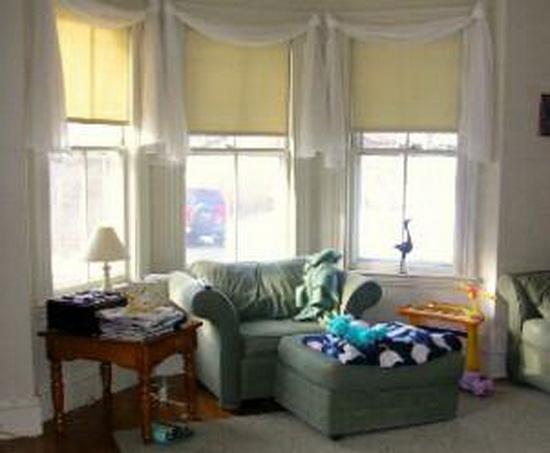 Дизайн комнаты с эркером детской