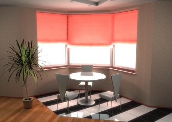 Дизайны комнаты с эркером