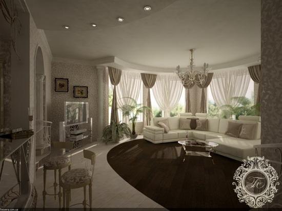 Дизайн спальни фото с эркером
