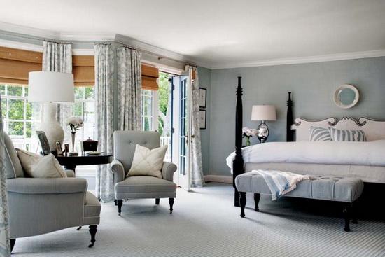 Дизайн комнаты с эркером