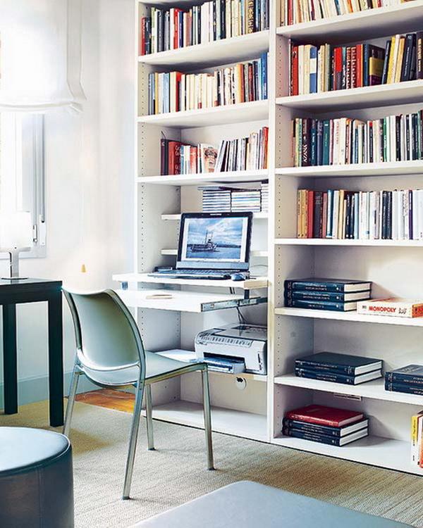 111 идей стильных домашних офисов - фото.