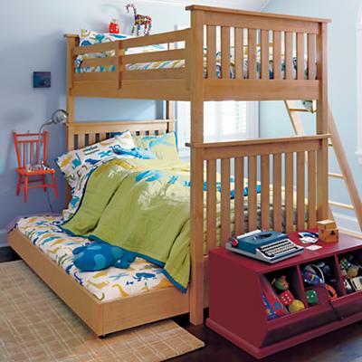 Дизайн детской для троих разнополых детей