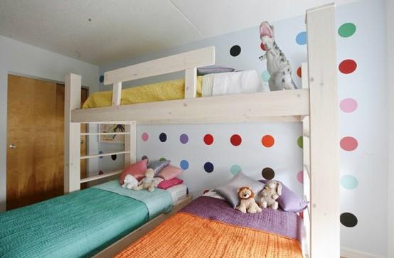 Детская для троих детей - 65 фото лучших идей дизайна