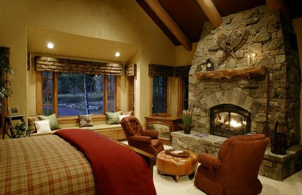 стиль кантри, сельский стиль, деревенский стиль, спальня в стиле кантри, стиль кантри в дизайне интерьера, спальня...