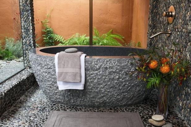 Выбираем камень для ванных комнат 37
