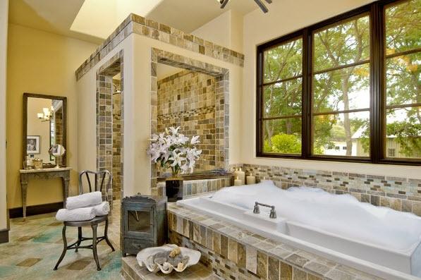 Выбираем камень для ванных комнат 39