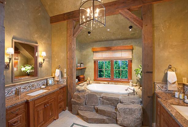 Выбираем камень для ванных комнат 40
