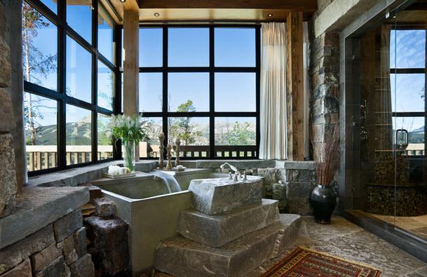 Выбираем камень для ванных комнат 41