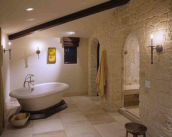 Выбираем камень для ванных комнат 42