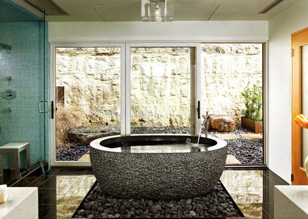 Выбираем камень для ванных комнат 46
